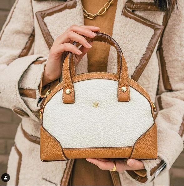 un sac à main en cuir de luxe